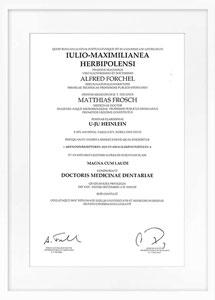 zertifikat drarbeit drheinlein