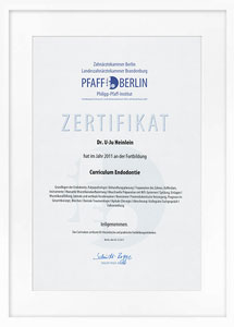 zertifikat endodontie2 drheinlein