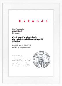 zertifikat parodontologie2 drheinlein