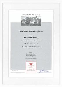 zertifikat softtissue1 drheinlein