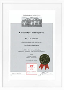 zertifikat softtissue2 drheinlein